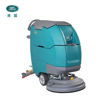 CWZ Walk behind electric dual brush floor cleaning equipment