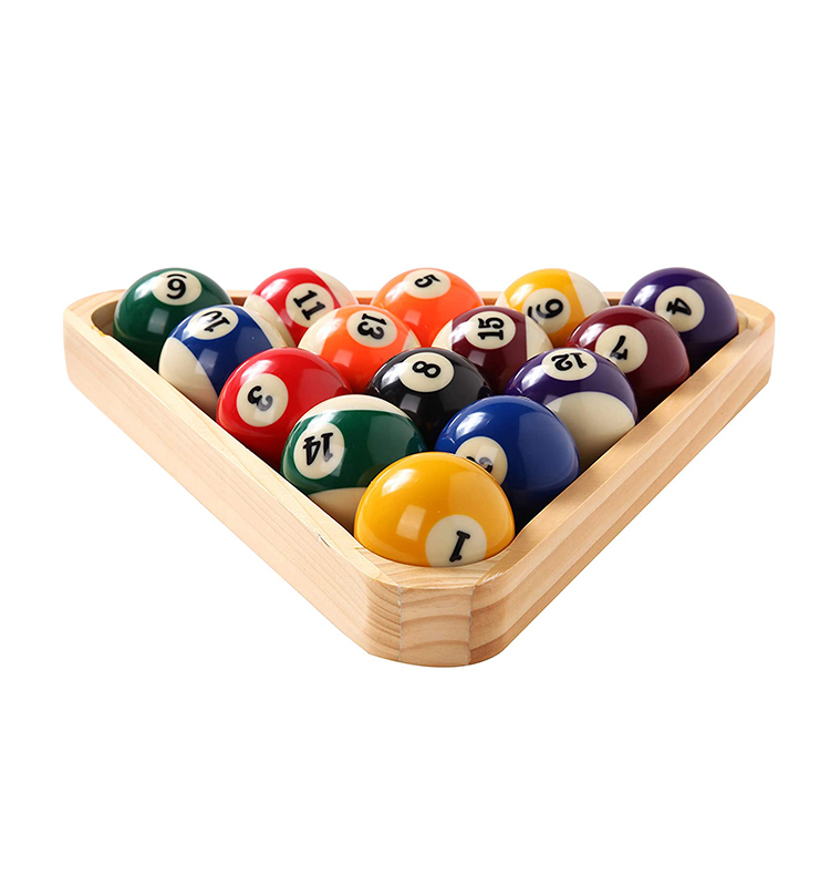 regular size billiard pool ball set,complete 16 balsl pool table accessories