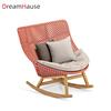 rocking sofa chair with ash wood leg