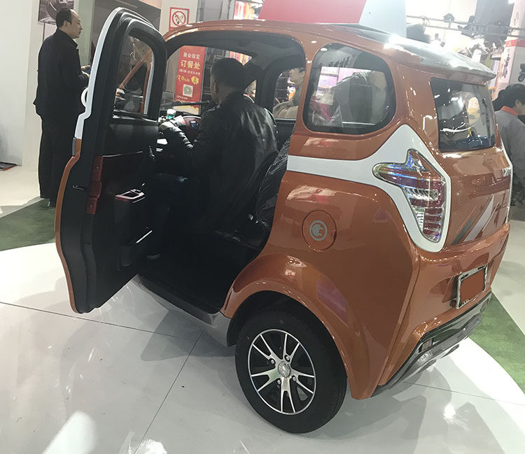 electric tricycle for elderly Disabled electric car Four-wheel fully enclosed electric vehicle