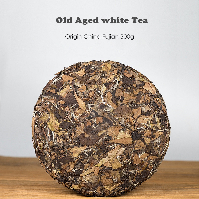 ZSL-WC-001Healthy Herbs Chinese Natural Aged Old White Tea Compressed Cake Immunity Boost Gift Tea Set - 4uTea | 4uTea.com