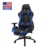 USA free shipping Ergonomic Swivel Adjustable Height Racing thick pad PU Leather Gaming Chair with footrest