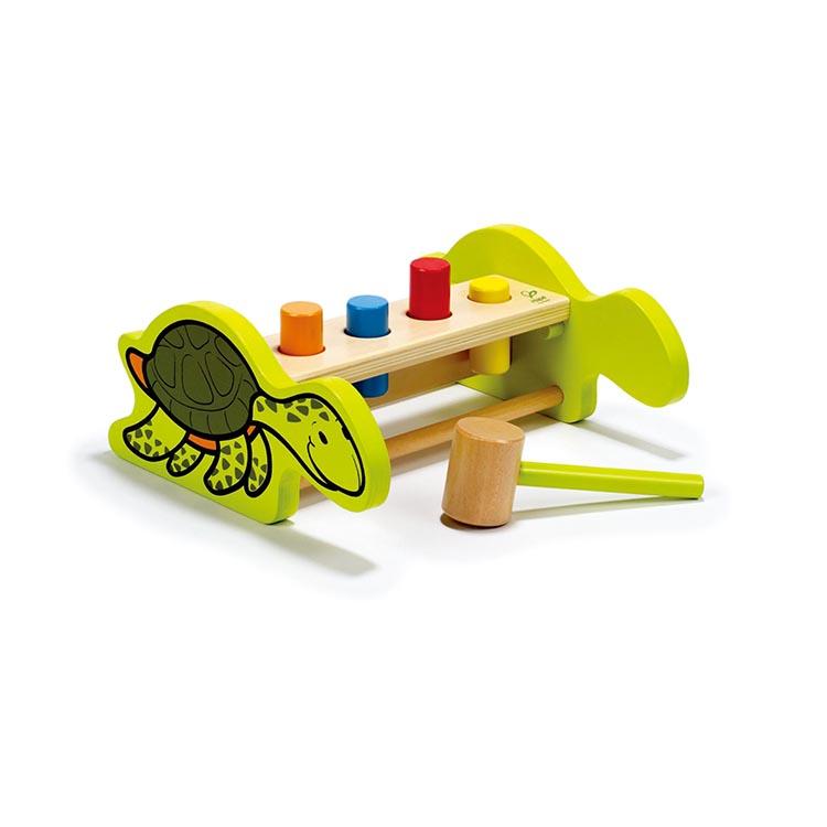 Оптовая продажа, игрушка-молоток, деревянная скамейка для детей, деревянная игрушка