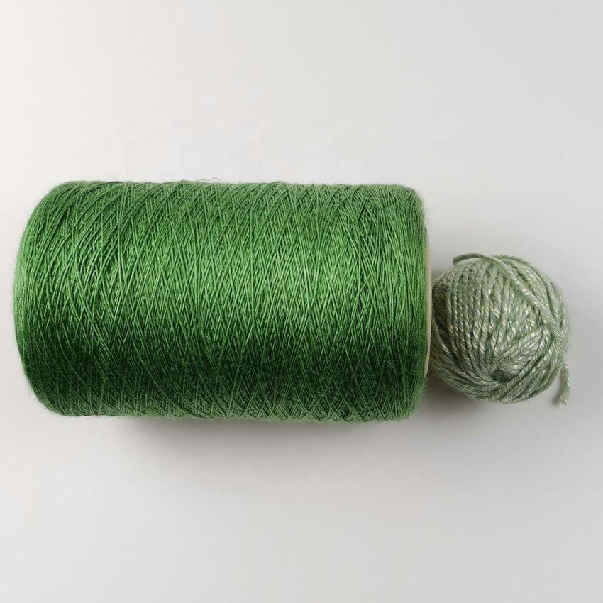 NE24/1 weaving 100% bamboo spun yarn
