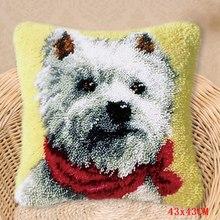 Ковёр для собак, вышивка, подушка, защелка, крючок, набор ковров, Foamiran для рукоделия, ручная работа, knooppakket, сделай сам, ковровые наборы, наборы(Китай)
