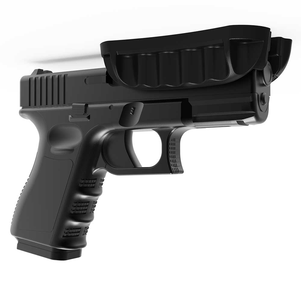 Магнитный держатель для пистолета, подставка для пистолета, винтовки, магнитный держатель, автомобильная кобура для дома, под столом