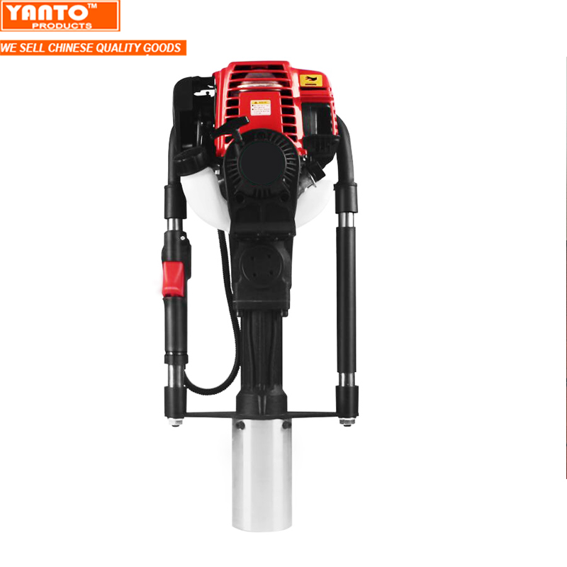 MAX 80MM Powerful 38cc 4 Stroke Petrol Fence Knocker Post Pile Driver Picket Fencing