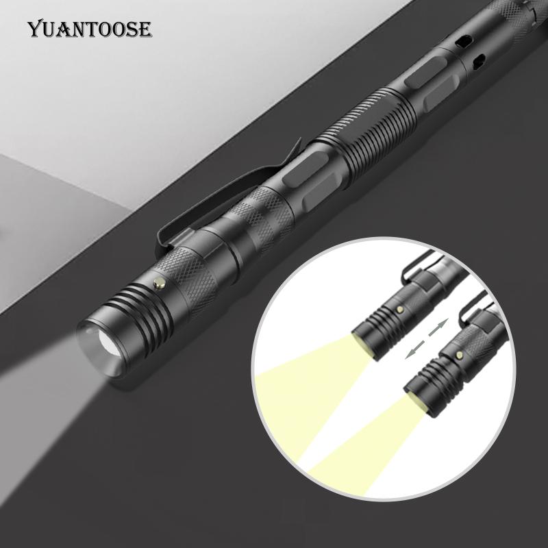 Многофункциональная ручка для самообороны Военная тактическая ручка фонарик