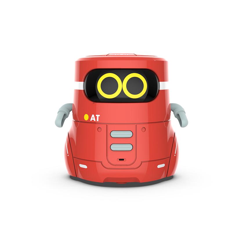 Интерактивный умный детский мини-робот танцующий с голосовой записью музыки