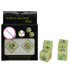 LED 18MM A pair of Sex Dice Glow in Dark for Sex Funny
