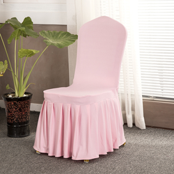 High Quality  Banquet Skirting Wedding Chair Cover for Wedding Events Spandex