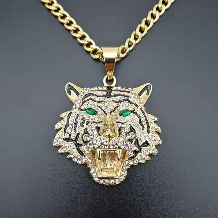 handmade Tiger/'s eye Kosmek pendant