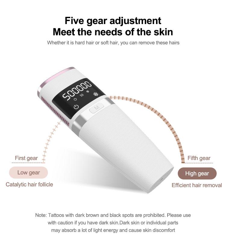 2021 популярное домашнее использование безболезненное IPL лазерное устройство для удаления волос для лица и тела удаление волос для женщин/мужчин