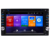Universal 6,2 zoll kapazitive touch screen audio radio stereo system navigation gps android auto video