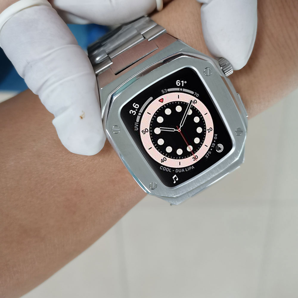 golden concept luxury apple watch case