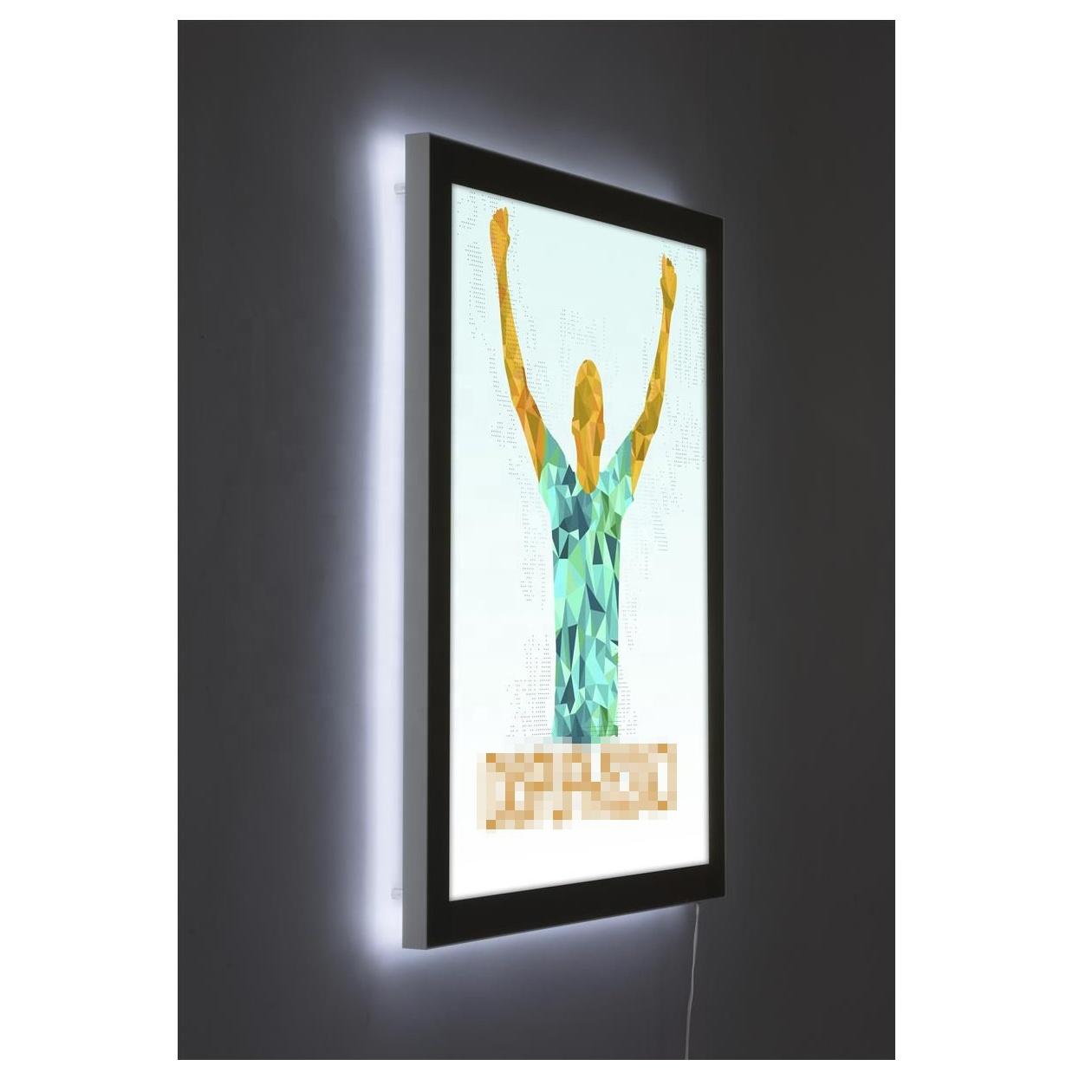 27*40 Inch LED Backlit Advertising Movie Poster Frame Light Box
