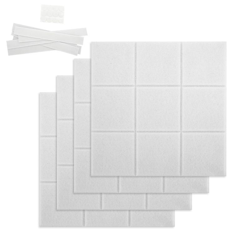 """11.8"""" x 11.8"""" Large Square Decorative Felt Pin Board Bulletin Board For Office Bedroom Wall - Yola WhiteBoard   szyola.net"""
