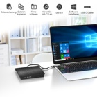 Dvd External CD DVD Drive USB 3.0 Type-C Portable Optical Superdrive Burner Player Writer CD DVD /- RW Compatible Wi