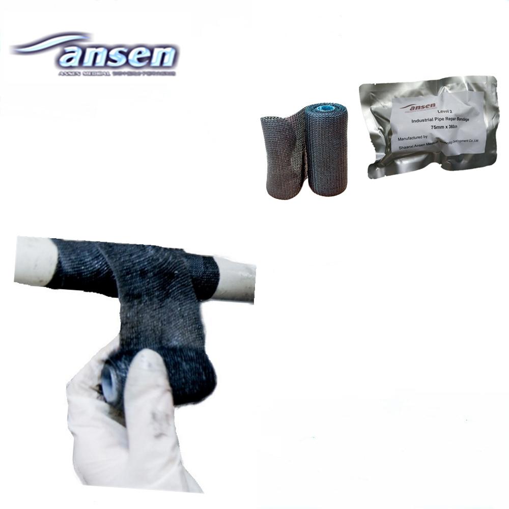 Emergency Pipe Repair Bandage Fiberglass Wrap Pressure Resistant Crack Sealing Epoxy Putty
