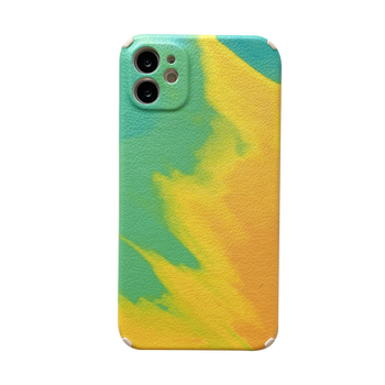 2021 New Arrival Colorful PU Leather Phone Case For iPhone 12 Pro 12 mini Shockproof Cover Full Protective Case