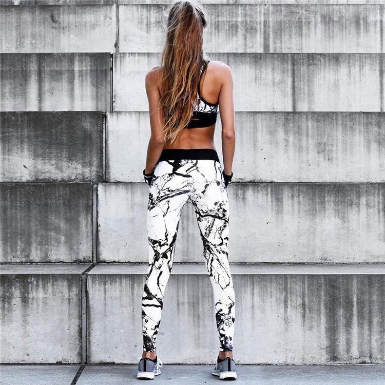PDEP 2020, модная женская домашняя одежда с принтом, для спортзала, фитнеса, для женщин, бюстгальтер для йоги, костюмы, леггинсы, спортивные костюмы, комплекты спортивной одежды