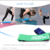 Set 5 Fitness Band Home Gym Equipment Exercise Bands Yoga Booty Resistance Bands Loop