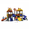 6201M parque infantil para niños con múltiples diapositiva 760*320*350cm
