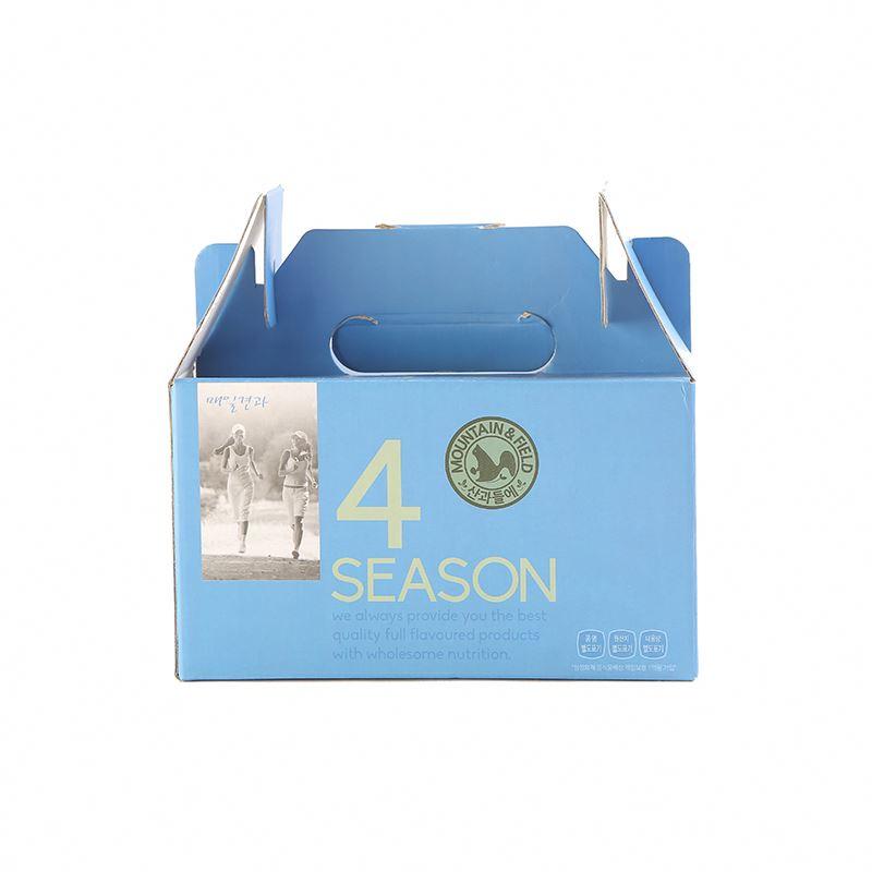 Sweet potato vermicelli tote bag food packaging box custom carton packaging printing