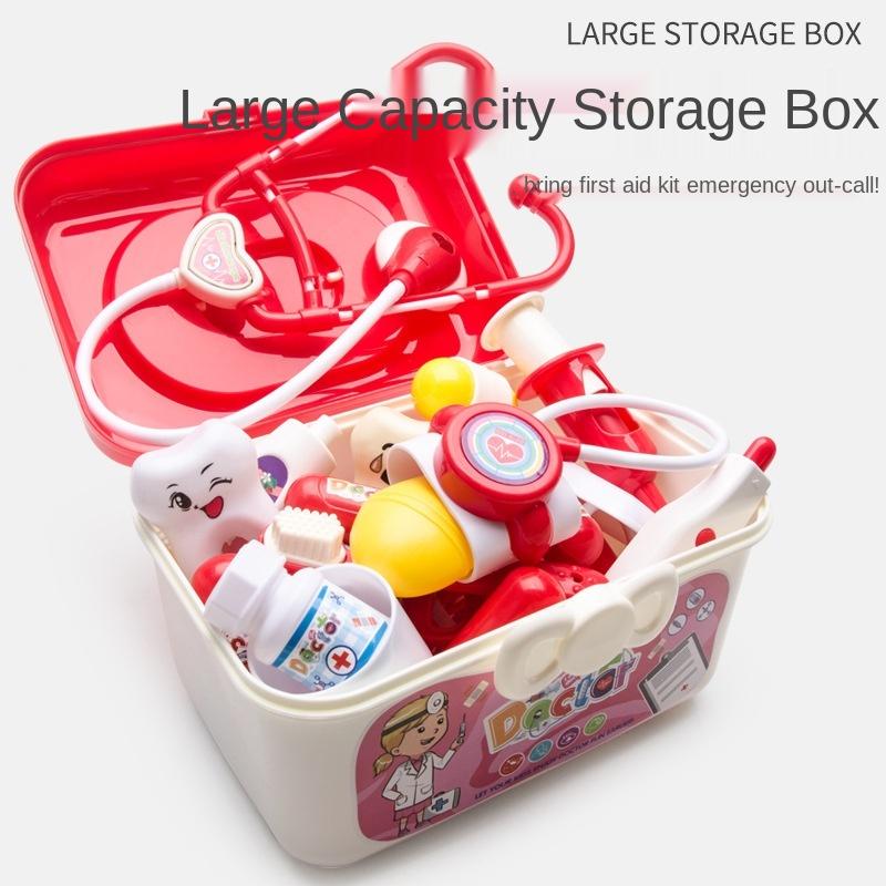 Детский игровой домик для медсестры, игрушечный набор с имитацией стетоскопа для инъекций доктора