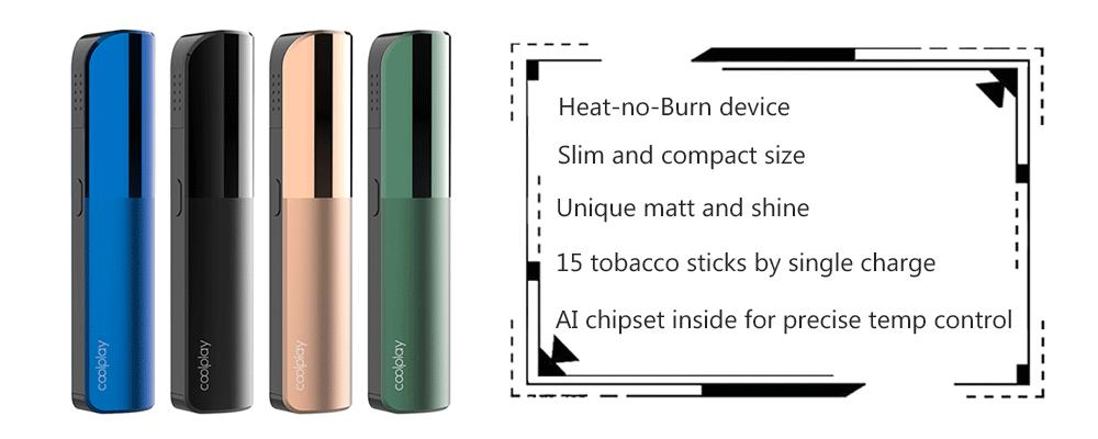 Лучшие товары 2021 года, устройство для нагрева без горения Coolplay Q3, устройство для нагрева zigarett, для нагрева, не сжигания палочек