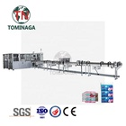 Paper Tissue Packing Machines Paper Shanghai Tominaga TNIFA5000-40EB Full Automatic High Speed Paper Tissue Packaging Machine