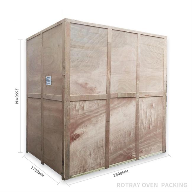 HX-64Q-01 Big capacity 64 trays gas rack rotary oven in bakery equipment