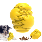 Pet 2021 New Pet Product Eco Friendly Natural Rubber Indestructible Interactive Treat Dispenser Dog Chew Toy For Aggressive Chewer