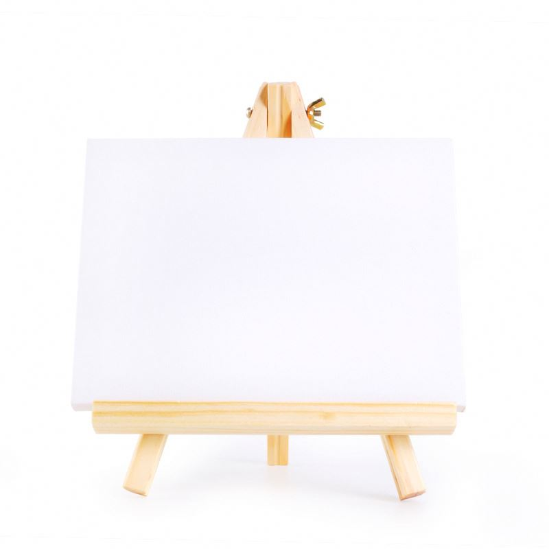 Художественный набор с французским мольбертом из твердой древесины, растягивающиеся холсты TOLpf, художественная подставка для мольберта