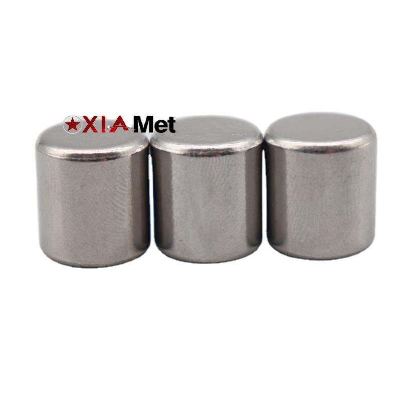 Вольфрамовый цилиндрический ВЕС вольфрамовый блок вольфрамовый куб противовес для сосновой машины китайский производитель