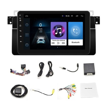 Auto Radio Android 10 Car Stereo for BMW E46 M3 318/320/325/330/335 GPS Navigation BT Wifi