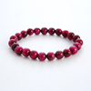 Rose red Tiger Eye Stone Beads
