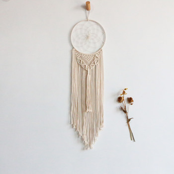 Hot sale Diy kit instructions round lace wall hanging bohemian chic macrame wall hanging tapestry