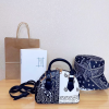 (Black+White)-bag+Black-hat
