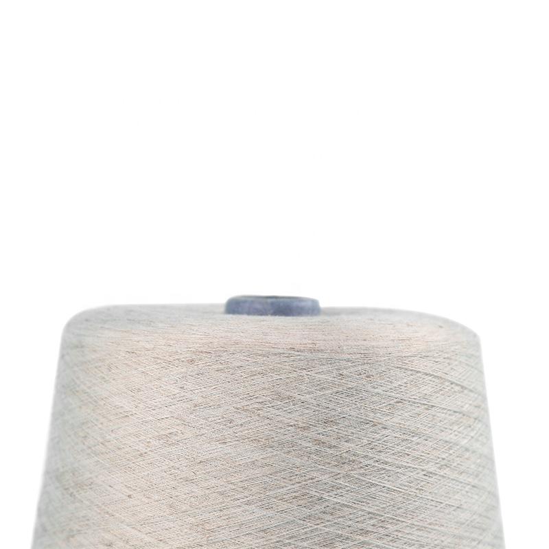 Best Selling Viscose Linen Blended Yarn Raw White