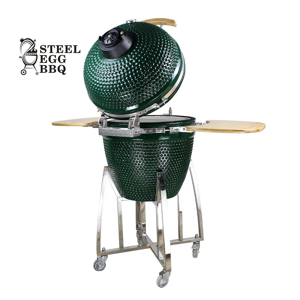 SEB камадо оптовая продажа 21 inch на открытом воздухе барбекю гриль керамическая KAMADO