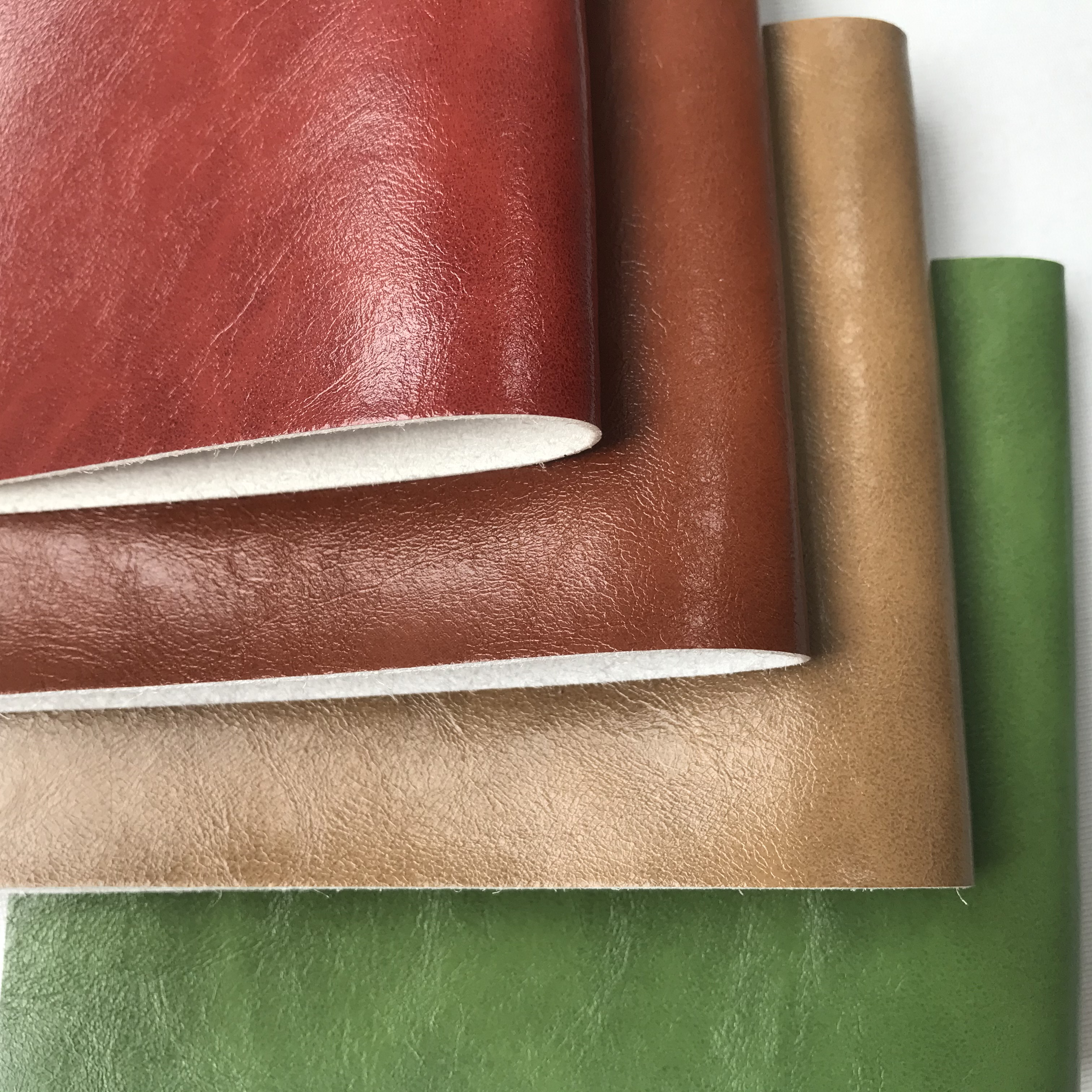 vinyl fabric Two tone microfiber leather for Motorhome
