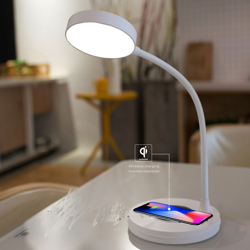 Dimmable Wireless Recharger Student Use Study Reading Led Table Lamp Buy Led Table Lamp Reading Table Lamp Study Table Lamp Product On Alibaba Com