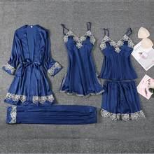 Свадебное платье невесты, сексуальное атласное женское белье с вышивкой, кимоно, халат, повседневное нижнее белье, Мини Ночная рубашка(Китай)