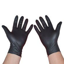 50/100 шт одноразовые перчатки нитрилкаучук для мытья посуды Кухня работы Latx сад защитные перчатки для бытовой лаборатории(Китай)