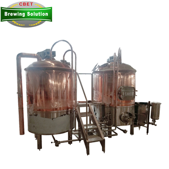 home beer brewing kit 7bbl red copper brew kettle for sale micro beer brewery equipment