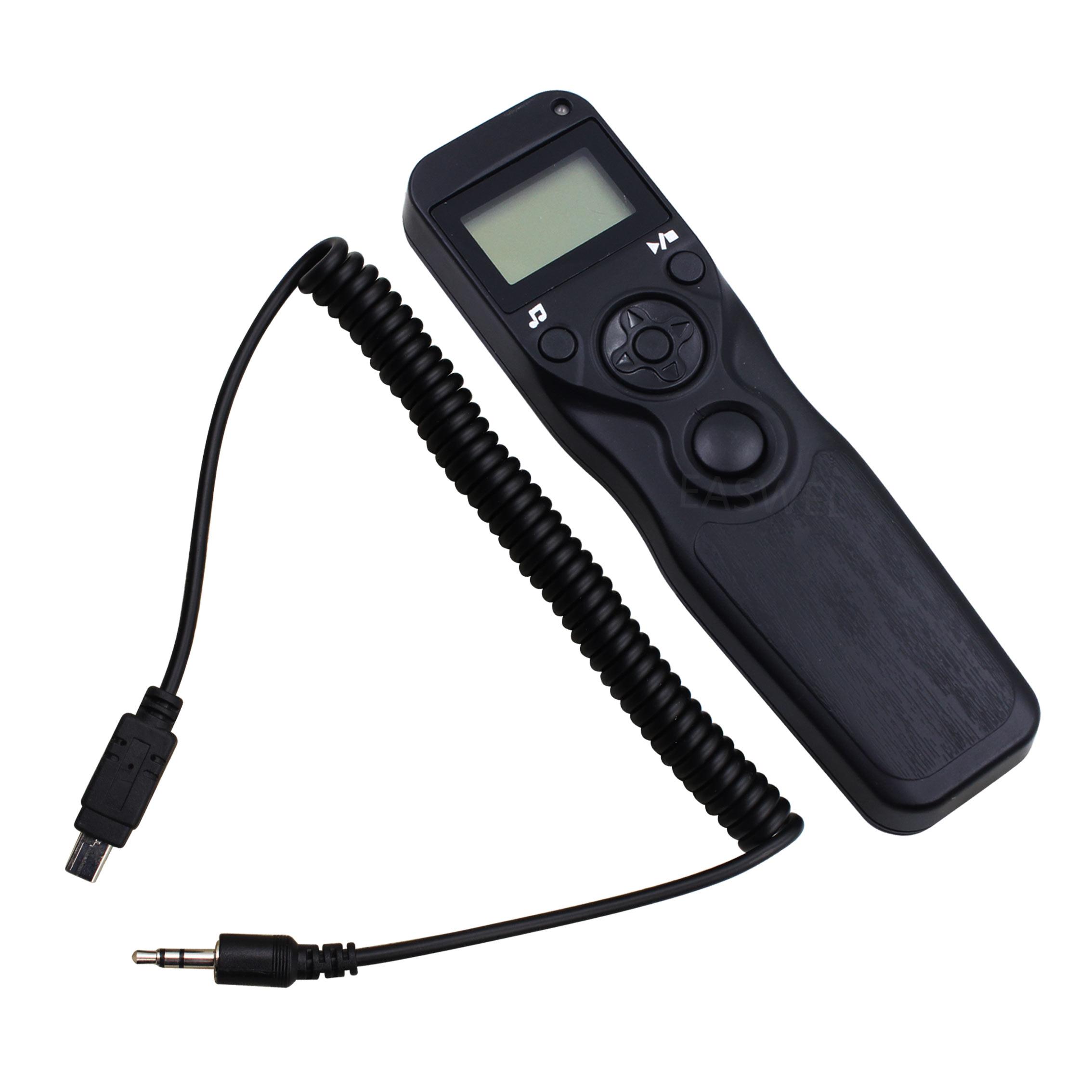 MC-DC2 LCD Timer Remote Shutter Cord for D750 D610 D3300 D5500 D5600