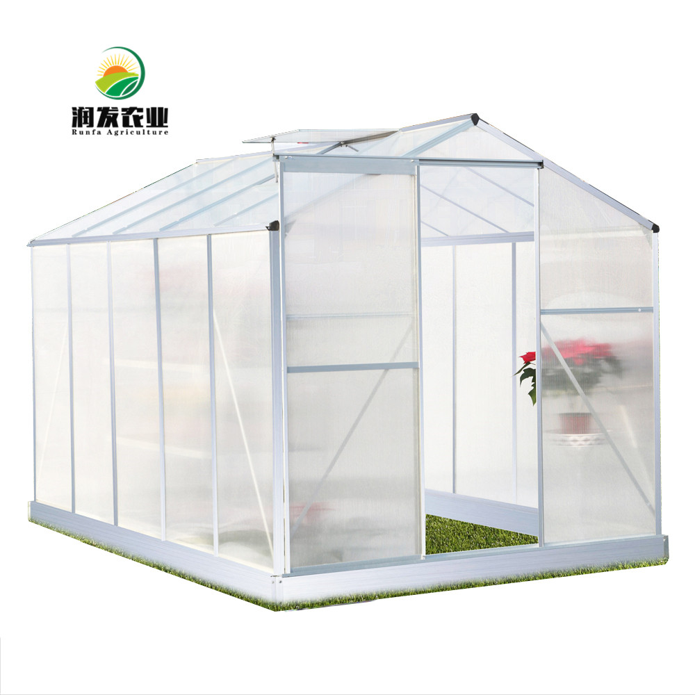 Low Price High Quality Eco-Friendly Green House Greenhouse For Garden Strong Hobby Polycarbonate Garden Greenhouses