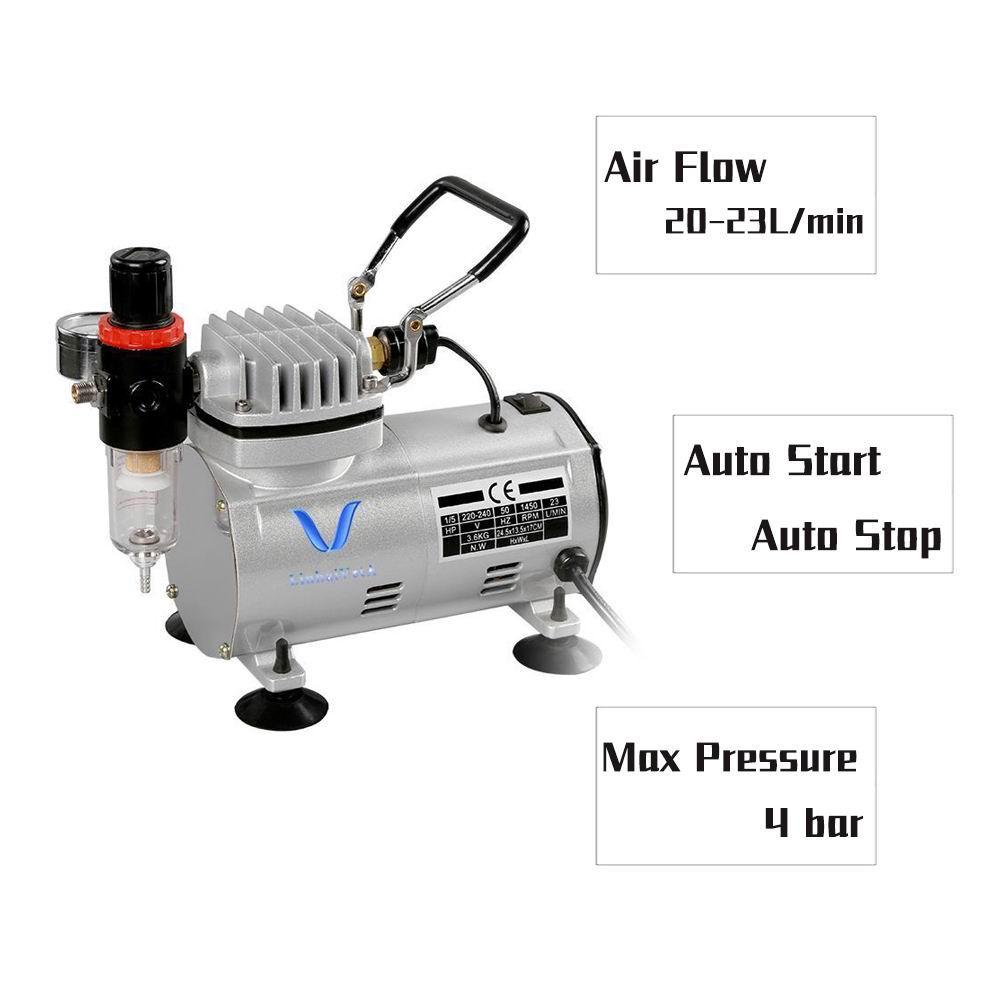 LinhaivetA hobby air brush gun mini airbrush machine compressor tanning kits