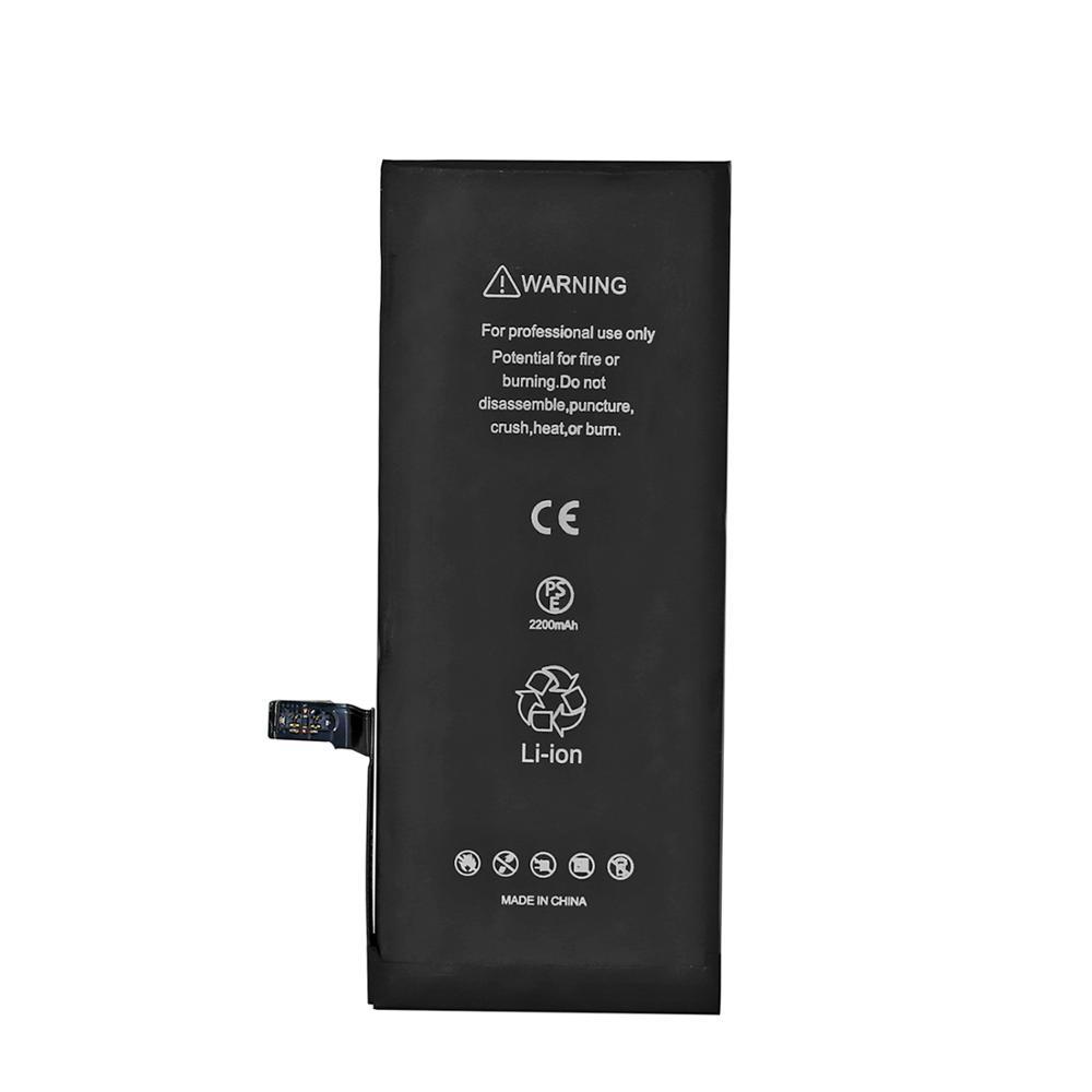 WELUV фабрика OEM 2200mAh 0 цикл оригинальный Высокое качество батарея сотового телефона для iPhone 7 Замена батареи
